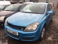 2004 Vauxhall astra, 1.6 petrol, breaking for parts only, all parts available