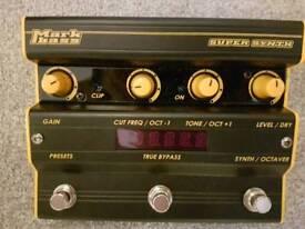 Markbass super synth bass guitar pedal