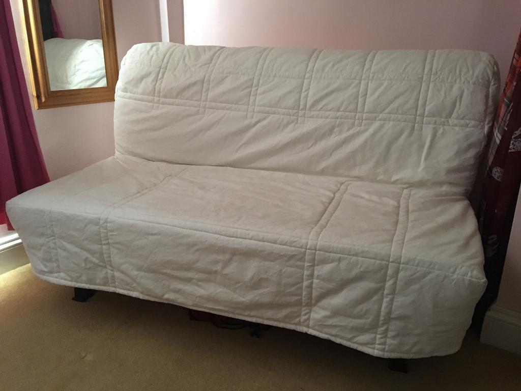 Bed Settee Sofa Double Ikea Lycksele