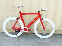 Brand new NOLOGO Aluminium single speed fixed gear fixie bike/ road bike/ bicycles rrr7
