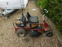 Ride on lawn mower 8hp Briggs and stratton