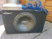 Subwoofer + Amplifier 600W