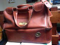 """Leather """"WELKIN"""" Bowls Bag & Welkin Bowls Shoes Size 8"""
