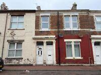 Refurbished Flat on Ripon Street in Gateshead NE8