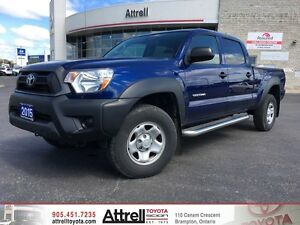 2015 Toyota Tacoma DBL Cab 4x4. Running Boards, Keyless Entry, X