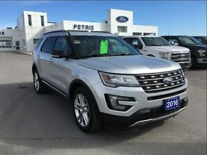 2016 Ford Explorer XLT - AWD, NAV, HEATED LEATHER