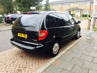8 seater Chrysler voyager