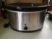 Large slow Cooker, only ever used once
