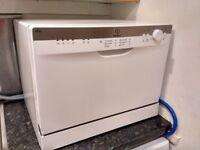 Table Top Dishwasher - Indesit ICD661 Compact Dishwasher - White