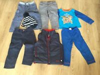 Bundle of Boys clothes size 2-3 years