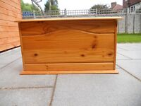 Wooden Chest/Toy Box