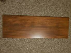 10 x wooden effect floor tiles