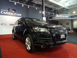 2014 Audi Q7 3.0T PROGRESSIV / NAVIGATION / PANO ROOF / 7 PASS