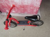 Bulldog balance bike 12""