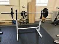 Gym Equipment - Powerline Squat Rack