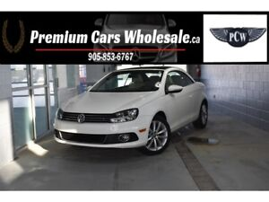 2013 Volkswagen Eos KOMFORT LEATHER PANORAMIC CONVERTIBLE TOP NA