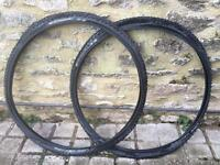Schwalbe Rocket Ron CX tyres in good condition