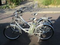 2 Milan Electric Bikes For Sale.