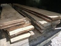 Oak Boards, Air dried 15 years, 42mm, Joinery grade 1 cubic meter £1260 or £40 per cubic foot