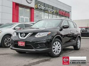 2014 Nissan Rogue S FWD!! RATE AS LOW AS 1.9%