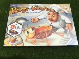 Bugs in the Kitchen Game - Brand new in wrapper!