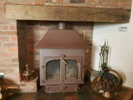 Log Burner/multi fuel Stove with back boiler