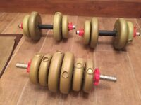 Small weights in excellent condition