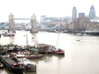STUNNING TWO BEDROOM FLAT WITH BALCONY AND PARKING IN TEMPUS WHARF, LUNA HOUSE, TOWER BRIDGE