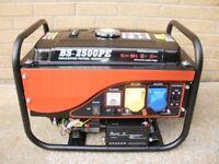 Brand New 2500W / 2.5kW / 3.2kVA - 6.5HP 110V 230V - Electric/Button Start Generator
