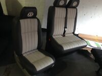 Vw t5 seats newly trimmed