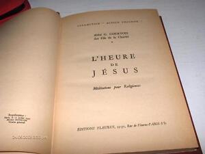 #190 L'HEURE DE JÉSUS MÉDITATIONS POUR RELIGIEUSES $14