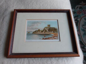Two Framed Prints of Old Oban.