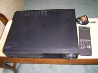 Sony slv-225ub vhs vcr video recorder FOR SPARES OR REPAIR