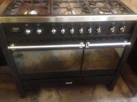 Smeg Range dual gas cooker..100cm Mint