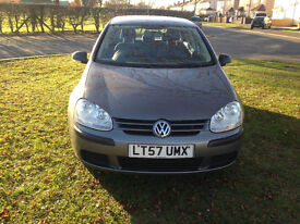VW Golf Diesel 2007 Full Service History Timing Belf Changed MOT 2017 Hpi Clear - P/x Welcome