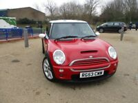 MINI Hatch 1.6 Cooper S +SH+SAT NAV+LEATHER+XNEONS+2 KEYS