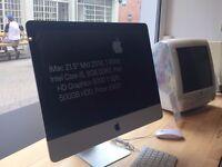 """iMac 21.5"""" 2014, 1.4GHz Intel Core i5, 8GB RAM, 500GB HDD, 6 Month Warranty, £600"""