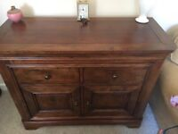 Solid wood cabinet/sideboard