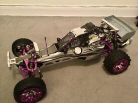 Rc car baja 1/5 scale petrol complete upgraded very quick