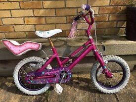 Girls bike. Age 3-6 ish