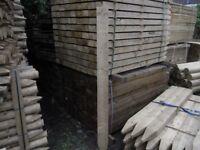 Timber fence post 75mmx125mmx1.8m