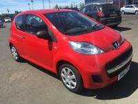 (61) Peugeot 107 1.0 , mot-July 2019 , only 32,000 miles ,service history,aygo,c1,fiesta,corsa,clio