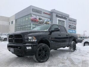 2017 Ram 3500 SLT, Black Appear Group, Crew, Diesel, 25,700 KM