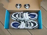 Men's cycling shoes, Shimano SH-R086W, size EU46 (UK 10.5), used only a few times