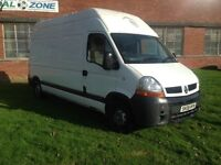 RENAULT MASTER2.5 DCI LWB EXTRA HIGH TOP