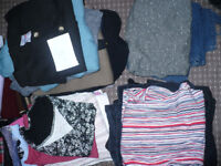 Huge bundle/job lot of 40 ladies clothes size 16. Clean and good condition. Good brands. For resale.