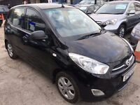 Hyundai i10 1.2 Active 5dr£2,995 p/x welcome FREE 1 YEAR WARRANTY, NEW MOT