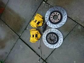 Vauxhall astra mk5 vxr front brake setup /mk4 gsi/Sri conversion