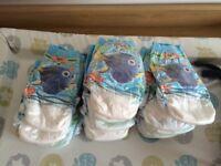 Huggies swim nappies size 3-4