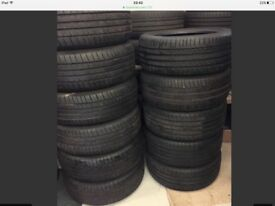 225/55/17 michellin Dunlop Pirelli continental 7mm